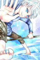 RotG_Jack Frost_fun slippery ice by Feruru