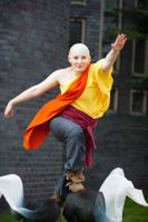 Avatar: The Last Airbender - Aang Cosplay by GoldenMochi