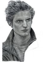 Edward Cullen:almost finished by theresebees