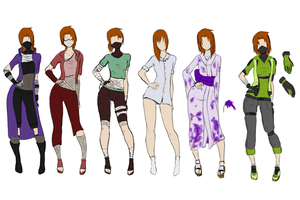 Akemi clothes by forgotten-halo