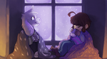 Lazy winter kids (SPOILERS FOR TRUE PACIFISTEDNGIN by watersee
