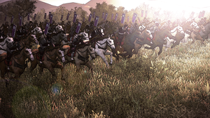 Cavalry charge by LaNoif