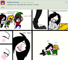 ASK JEFF THE KILLER AND BEN DROWNED: 7# by AskJeffandBendrowned