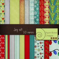 Joy papers-paper street by paperstreetdesigns