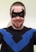 Nightwing Costume by Xaphriel