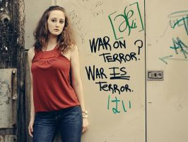 War IS Terror. by musicangel071