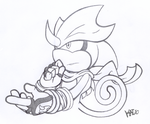 Sketch-Trade:  Stealth by KaiThePhaux