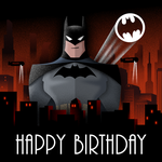 Batman Birthday Card by Scara1984