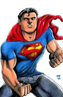 Young Superman by olybear