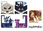 MH4U icons- batch 2 by Mongrelistic