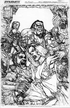 Army of Darkness cover ish 11 by Kevin-Sharpe