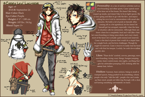Ref Sheet: Casey Levi Lacrosse by whitty-boo