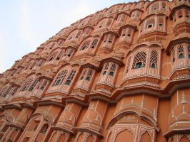 Palace of winds India by babsartcreations