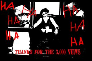 3,000 views by cainslove
