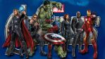 The Avengers movie wp2 by SWFan1977