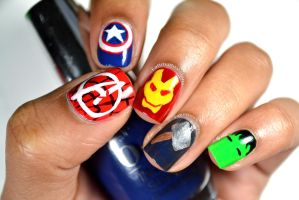 Marvel The Avengers by FatimattiDesigns