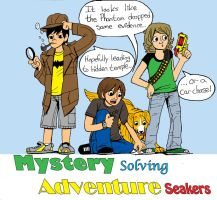 Mystery solving adventurers by murader191