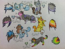 Free Adopts! .:CLOSED:. by spinstarxxx