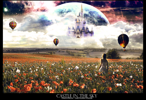 Castle in the sky - Collab by LadyVLING
