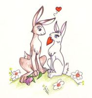 Bunny Luv by foxfur