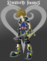 Kingdom Hearts: Sora by Grim-Raider