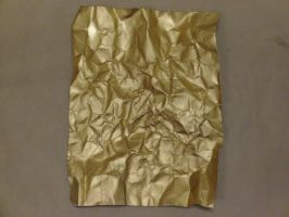 gold paper sheet 1 by jastock