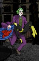 Unconscious Batgirl Kidnapped by BobKO