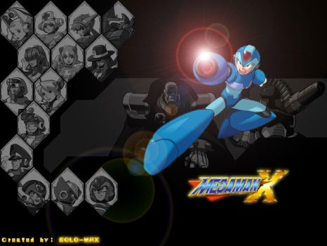 megaman by saster43