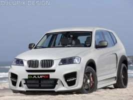 BMW X3 Virtual Tuning by djlupix