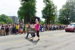 2015 Boston Pride Parade, Pride Ride Wave by Miss-Tbones
