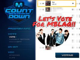 Let's Vote For MBLAQ! by NileyJoyrus14