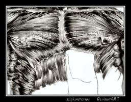 Musculature: Pencil: Chest by slipknotcrow