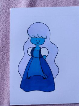 Sapphire SU by MelodyLawrenceArt