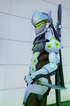 Genji Cosplay by FonteArt