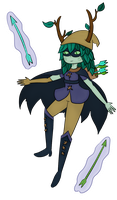 Huntress Wizard by haunted-luck