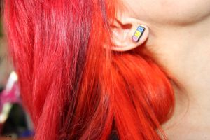 New red and orange hair by atteri