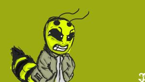If Wasp wore Jackets. by SeanScottUK