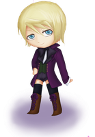 Chibi Alois by invertedrealities
