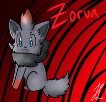 Zorua by BlueshinetheKat