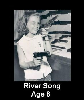 River Song Age 8 by Sparky1113