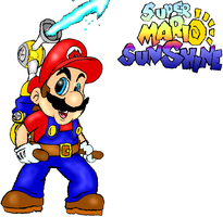 Super Mario Sunshine by DairyKing