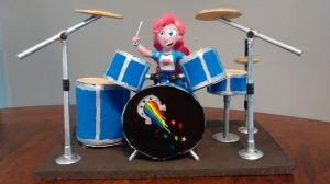 Pinkie Pie's Drums by ArtKing3000
