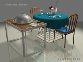 Dinner Date Table Set by fafcf09