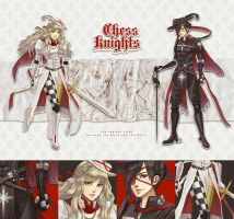 [CLOSED] Chess Knights by ClockworkAdopt