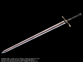 Mercenary sword by Sennek