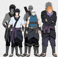 Team Sasuke by IGodsrealmI
