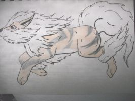 Day 103 - Arcanine by DreamDrifter91