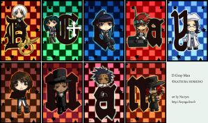 DGM: Chibi collection by Nacrym