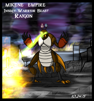 Mazinger series Mikene Empire - Raigon by GearGades
