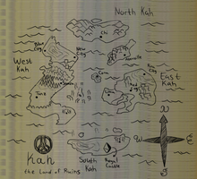 Kah the Land of Ruins (Map) by Dav69